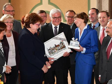 Bundespräsident Frank-Walter Steinmeier erhält CityPrint München