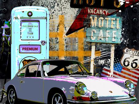 Porsche 911 Route 66