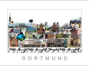 Stadtansicht-City Print-Dortmund