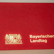 Aussenansicht Grafikmappe Edition Bayerischer Landtag