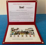Geschenkmappe Edition Bayerischer Landtag Innenansicht