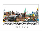 Stadtansicht Cityprint Lübeck