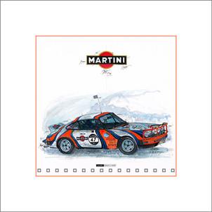Auto Kunst Porsche 911 Ice Race