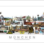 Exklusive Stadtansicht München für den Bayerischen Landtag