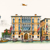 Gouache Palazzo Cavalli Franchetti