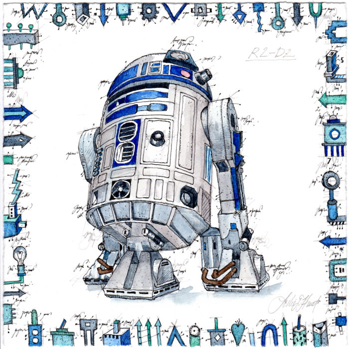 leslie-g.-hunt---R2-D2-700