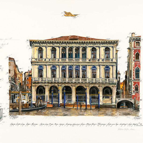 Gouache Palazzo Dolfin Manin