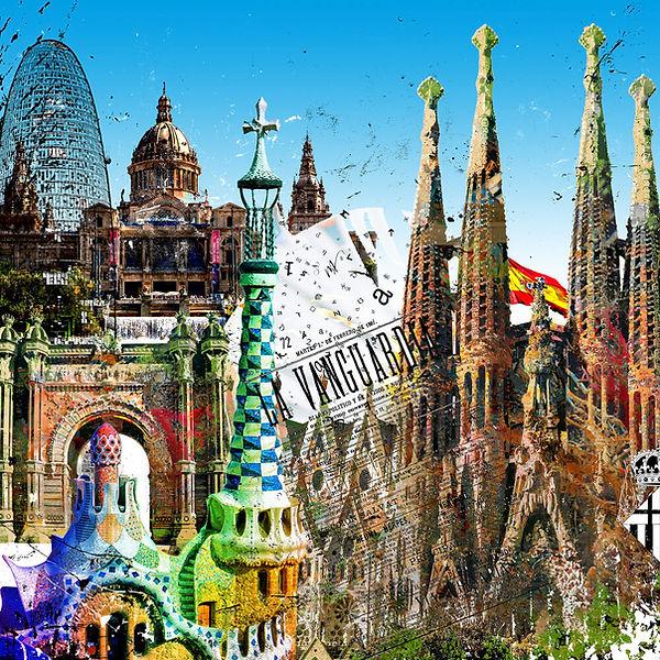 gallery print-barcelona-leslieghunt-stadtansciht