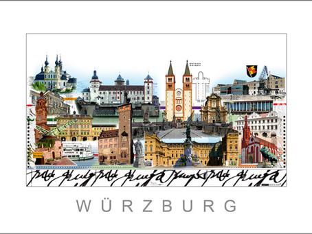 Neuer City Print • WÜRZBURG •