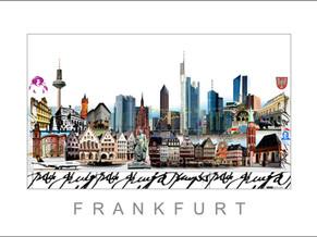 Stadtansicht-City Print-Frankfurt