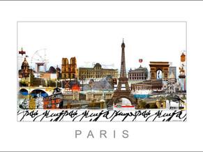 Stadtansicht-City Print-Paris