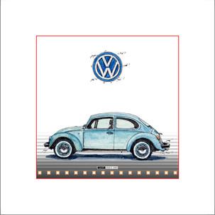 Auto Kunst VW Kaefer L1200