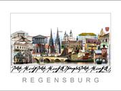Stadtansicht Cityprint Regensburg