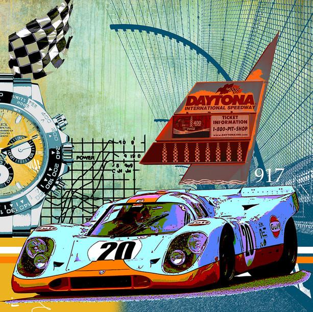 autokunst-gulf porsche-917-daytona-lesli