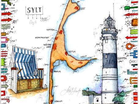 SYLT – Leuchtturm Kampen