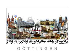Stadtansicht-City Print-goettingen