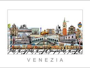 Stadtansicht-City Print-Venedig