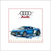 Auto Kunst Audi R8