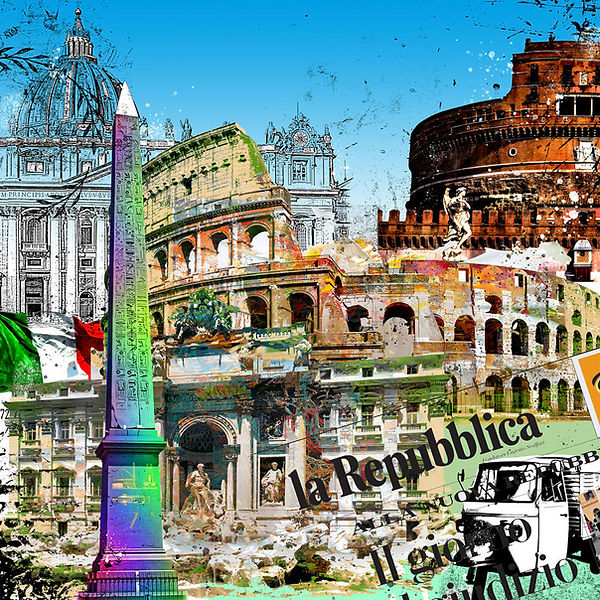 gallery print-rom-stadtansicht-leslieghunt