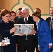 Antrittsbesuch Bundespräsident Frank-Walter Steinmeier im Bayerischen Landtag