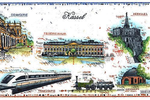 kassel, transrapid, thyssen, krupp, orangerie, herkules, fridericianum, transrapid, drache,giesshaus, eisenbahn, Lokomotive,