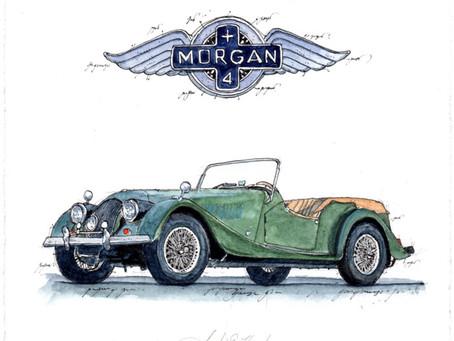 Morgan plus 4 – Elegant und ohne Rand