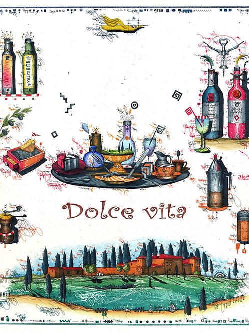 Dolce Vita, Italien, Toskana, Olivenöl, parmesan käse, Leslie G. Hunt