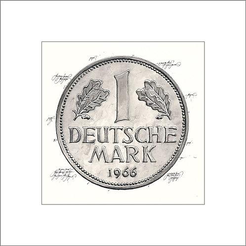 Deutsche Mark, Münze, Geldmünze
