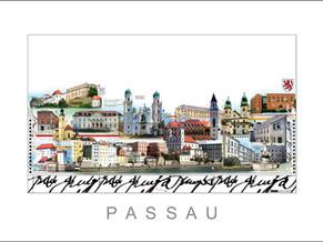 Stadtansicht-City Print-Passau