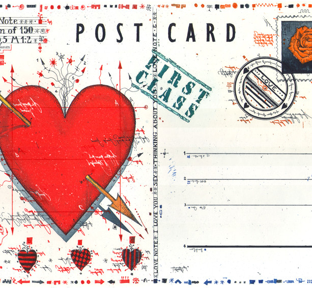 Postcard Love Note 2