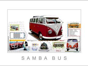 Auto Kunst Samba Bus T1 Leslie G. Hunt .