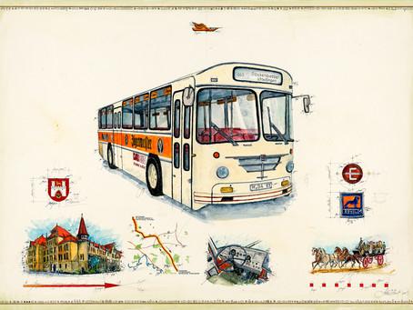 Unikat für einen Bus Liebhaber