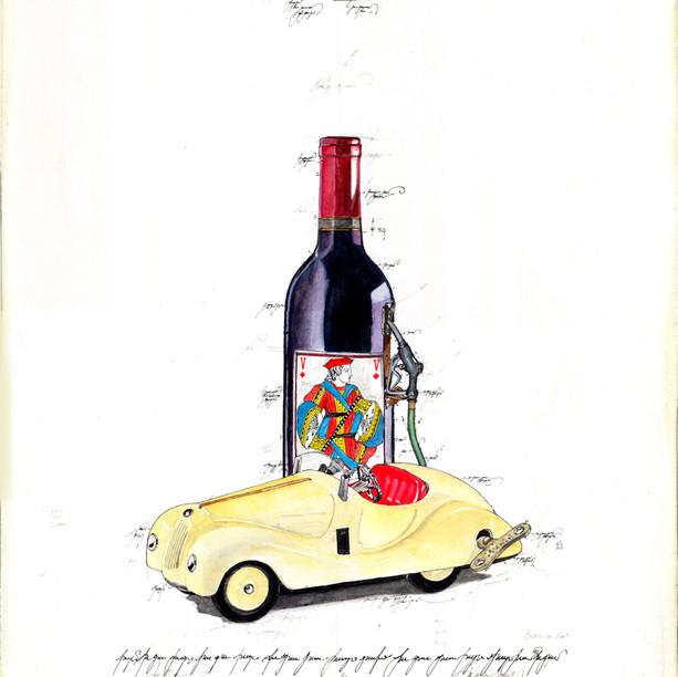 Gouache Safety Car
