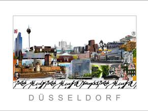 Stadtansicht-City Print-Duesseldorf