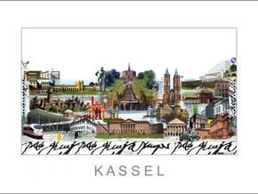Stadtansicht-City Print-Kassel-