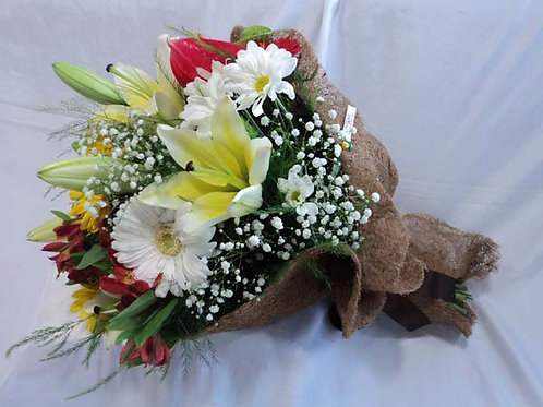 Buquê misto flores nobres