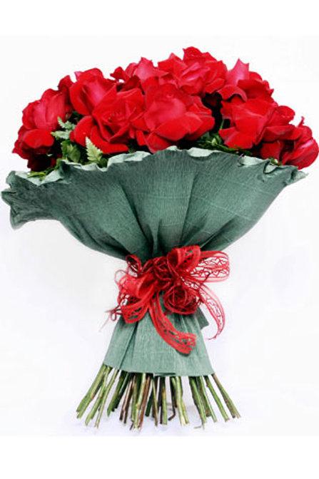 Buque de rosas colombianas  no crepom