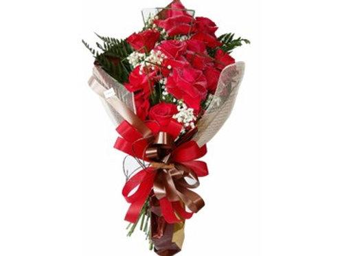 12 Rosas Importadas na Telinha