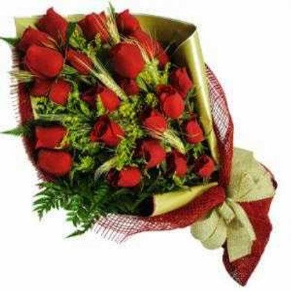 Ramalhete 24 Rosas colombianas.