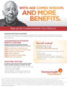Senior Benefit Flyer