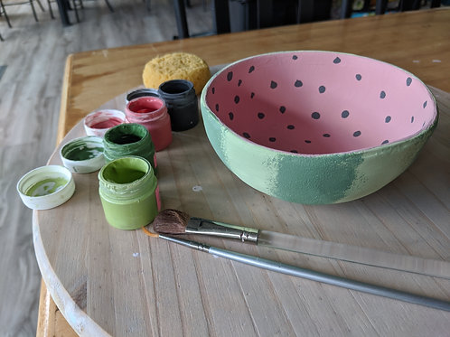 Watermelon Bowl Project
