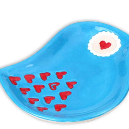 Colonial School - Love bird dish