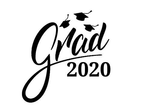"Stencil ""Graduate 2020"""