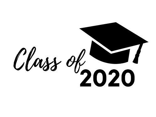 "Stencil ""Class of 2020"""