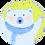 Thumbnail: Colonial School - Winter Bear Plate - 11-18-20 4 pm