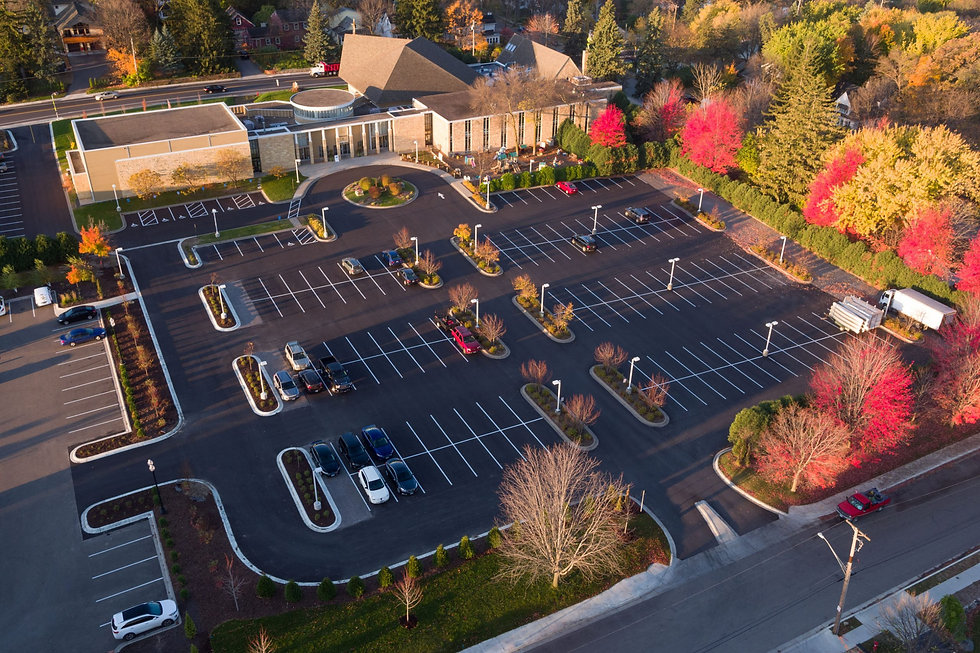 Aerial-Photo-of-Mount-Calvary-Parking-Lo