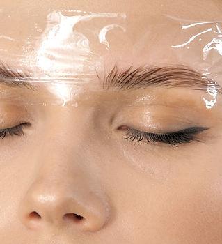 Create permanent eyebrow makeup. Microbl