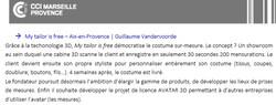 Prix Mercure CCI MP