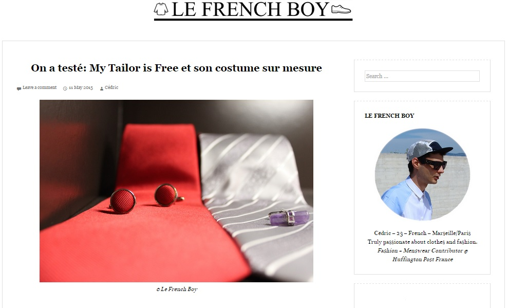 Blog Le French Boy