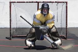 Rulle-Hockey-afspiller